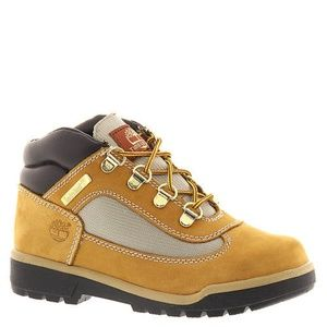 Timberland Kids Field Ankle Boots Leather Suede